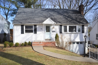 West Orange Twp. Single Family Home For Sale: 11 Carolina Ave