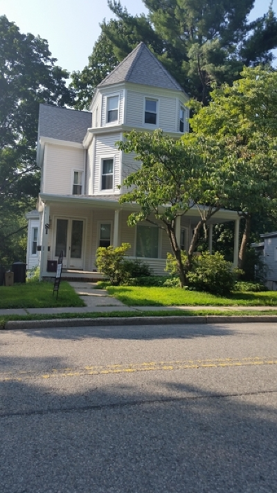 Morristown Town Rental For Rent: 81 Western Ave #1R