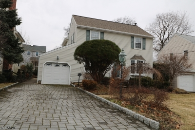Clifton City Single Family Home For Sale: 46 Englewood Rd