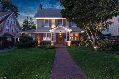 Montclair Twp. Single Family Home For Sale: 19 Elston Rd