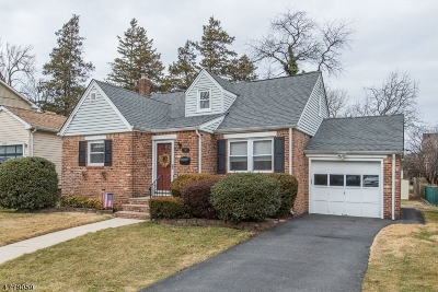 Nutley Twp. Single Family Home For Sale: 148 Mountainview Ave