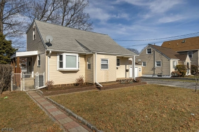 Clifton City Single Family Home For Sale: 166 Edison St