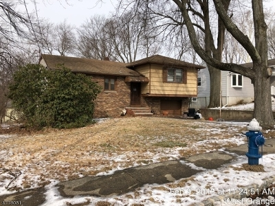 West Orange Twp. Single Family Home For Sale: 27 Barry Dr