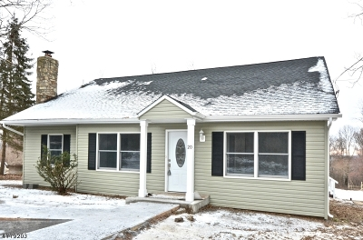 Glen Gardner Boro, Hampton Boro, Lebanon Twp. Single Family Home For Sale: 20 Skytop Rd