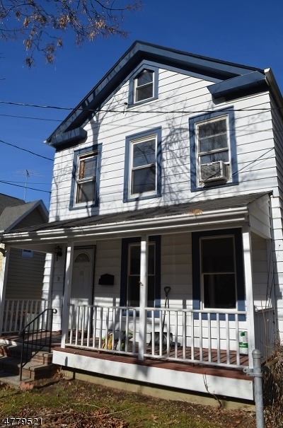 Morristown Town Rental For Rent: 31 Phoenix Ave