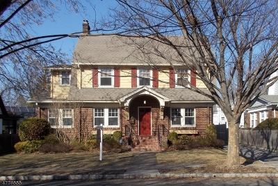 Montclair Twp. Single Family Home For Sale: 17 Roswell Ter