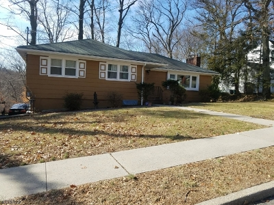 West Orange Twp. Single Family Home For Sale: 63 Rock Spring Ave
