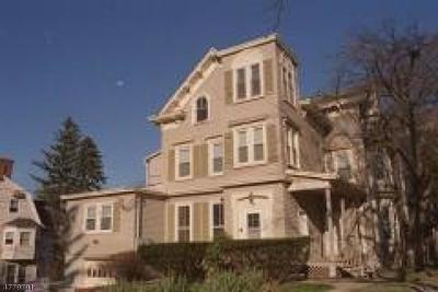 Morristown Town Rental For Rent: 17 Prospect St #3