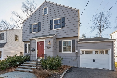 Chatham Boro Single Family Home For Sale: 44 Tallmadge Ave