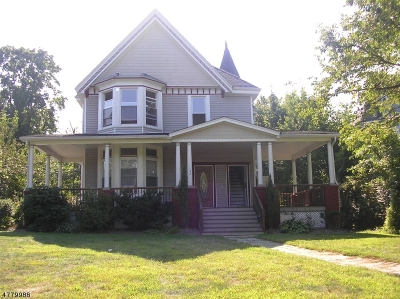 Essex County, Morris County, Union County Multi Family Home For Sale: 132 Lincoln St