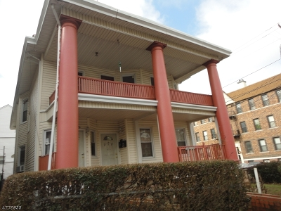 Passaic City Multi Family Home For Sale: 237 Gregory Ave