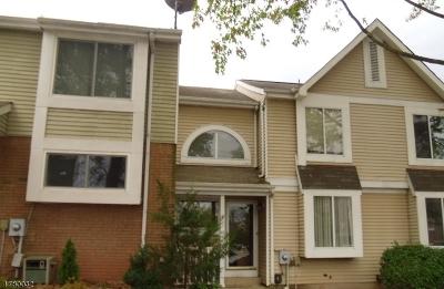 Hillsborough Twp. NJ Condo/Townhouse For Sale: $214,900