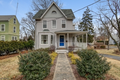 Chatham Boro Single Family Home For Sale: 67 Summit Ave
