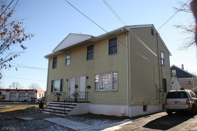 Rahway City Multi Family Home For Sale: 347 E Hazelwood Ave