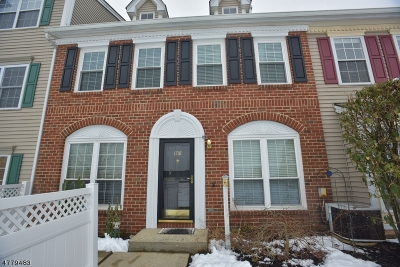 Branchburg Twp. NJ Condo/Townhouse For Sale: $279,000