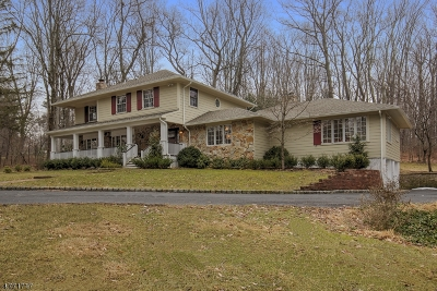 Mendham Boro, Mendham Twp. Single Family Home For Sale: 9 Townsend Rd