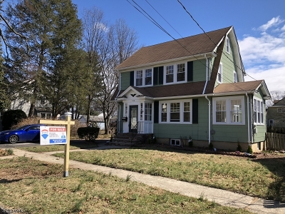 North Plainfield Boro NJ Single Family Home For Sale: $305,000