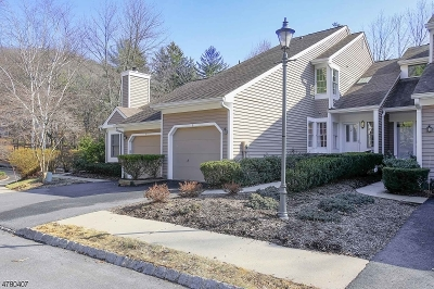 Bedminster Twp. Condo/Townhouse For Sale: 2 Stone Edge Rd