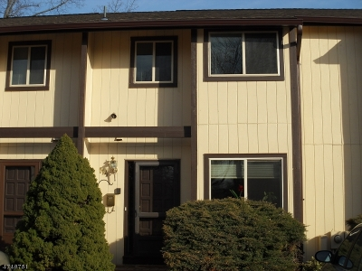 Somerset County, Morris County Condo/Townhouse For Sale: 114 Chelsea Way