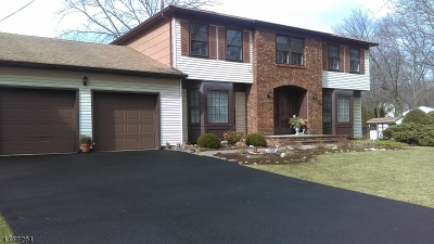 Parsippany-Troy Hills Twp. Single Family Home For Sale: 140 Knoll Rd