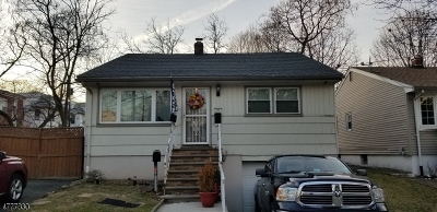 Irvington Twp. NJ Single Family Home For Sale: $79,900