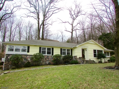 Morris Twp. Single Family Home For Sale: 1 Brookfield Way