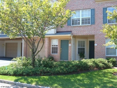 Morris Twp. Condo/Townhouse For Sale: 24 Cadence Ct