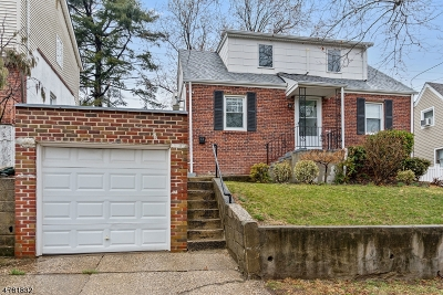 Nutley Twp. Single Family Home For Sale: 12 Plymouth Rd