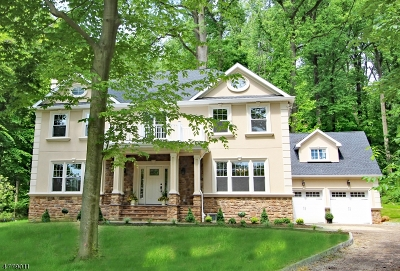 WATCHUNG Single Family Home For Sale: 99 Tuttle Rd