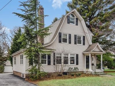 Glen Rock Boro Single Family Home For Sale: 108 Rock Rd