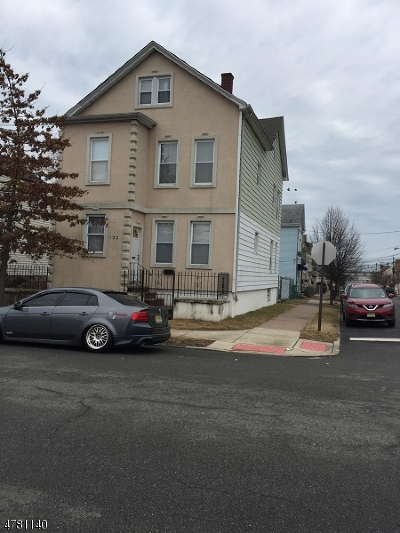 Paterson City Multi Family Home For Sale: 102-104 22nd Ave