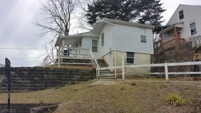 Haledon Boro Single Family Home For Sale: 18 Avenue B