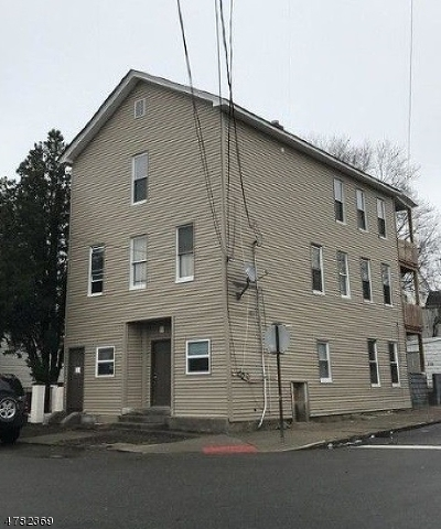 Paterson City Multi Family Home For Sale: 155 Butler St
