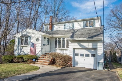 Nutley Twp. Single Family Home For Sale: 62 Roosevelt St
