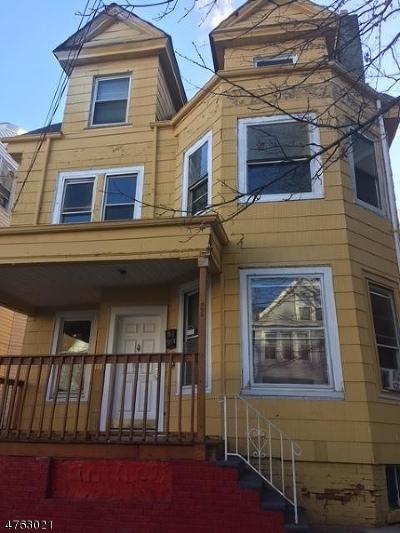 Paterson City Multi Family Home For Sale: 695 E 24th St