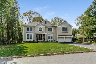 Florham Park Boro Single Family Home For Sale: 3 Myrtle Ave
