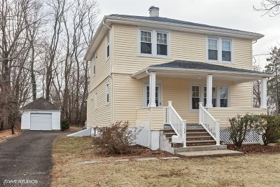 New Providence Single Family Home For Sale: 1160 Springfield Ave