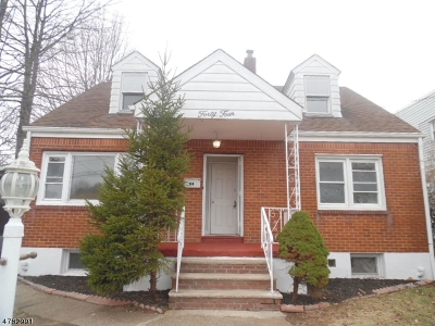 Paterson City Single Family Home For Sale: 44-46 Raritan Ave