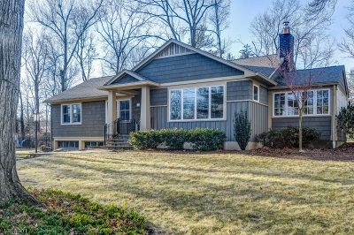 Chatham Twp Single Family Home For Sale: 11 Lenape Trl