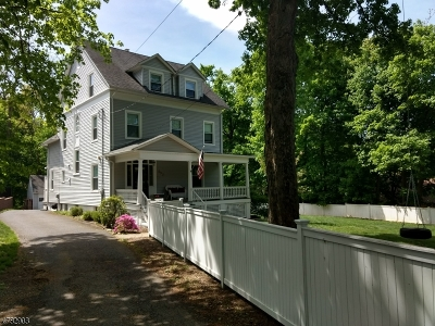 Summit City Single Family Home For Sale: 690 Springfield Ave