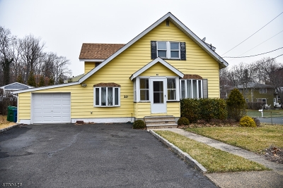 Scotch Plains Twp. Single Family Home For Sale: 20 Johnson St