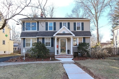 Fanwood Boro Single Family Home For Sale: 117 Russell Rd