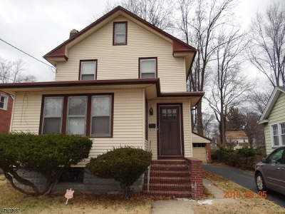 ROSELLE Single Family Home For Sale: 233 E 6th Ave