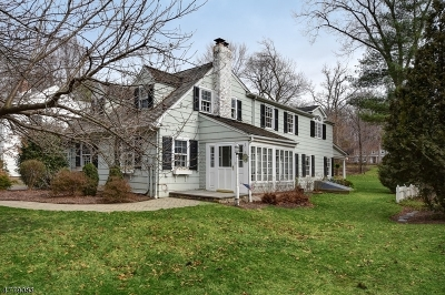 Chatham Twp Single Family Home For Sale: 9 Williams Rd