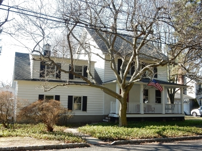 Berkeley Heights Single Family Home For Sale: 32 Debbie Pl