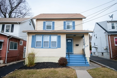 Maplewood Twp. Single Family Home For Sale: 77 Van Ness Ter