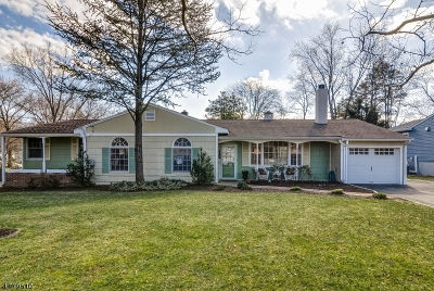 New Providence Single Family Home For Sale: 68 Glenbrook Rd