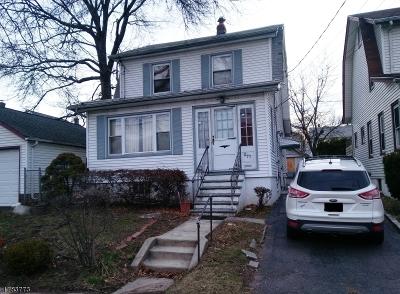HILLSIDE Single Family Home For Sale: 277 Clark St