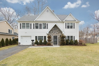 New Providence Boro Single Family Home For Sale: 70 Crescent Dr