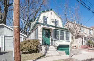 Maplewood Twp. Single Family Home For Sale: 122 Franklin Ave